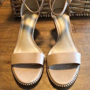 Coach strap heels 👠